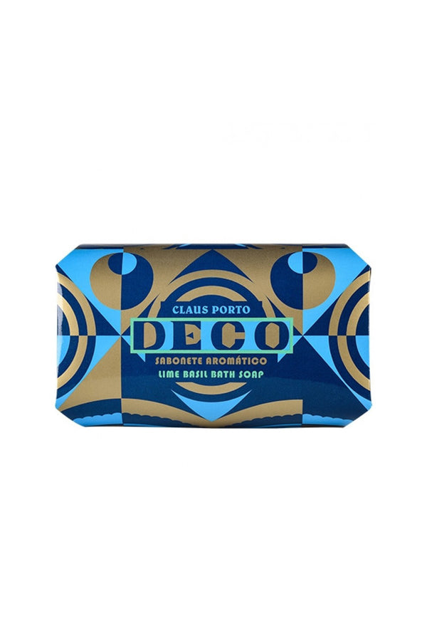 Claus Porto - Deco-Lime Basil Bath Soap 350g
