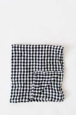 Metta - Napkin Set - Black & White Check
