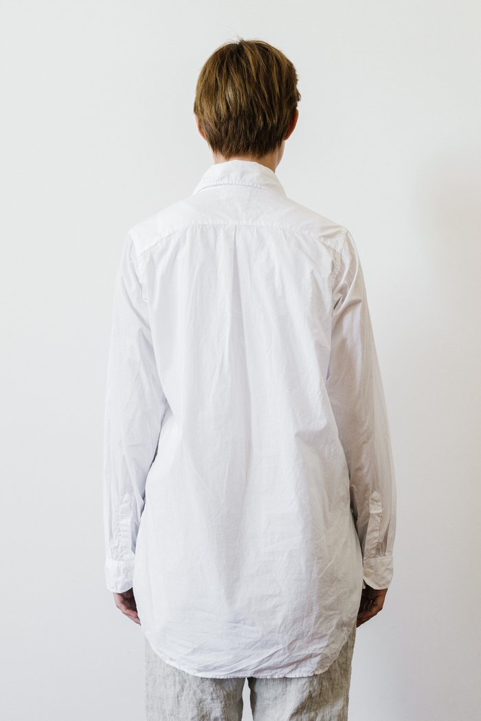 Metta - Iris Shirt - Fine Peached Cotton
