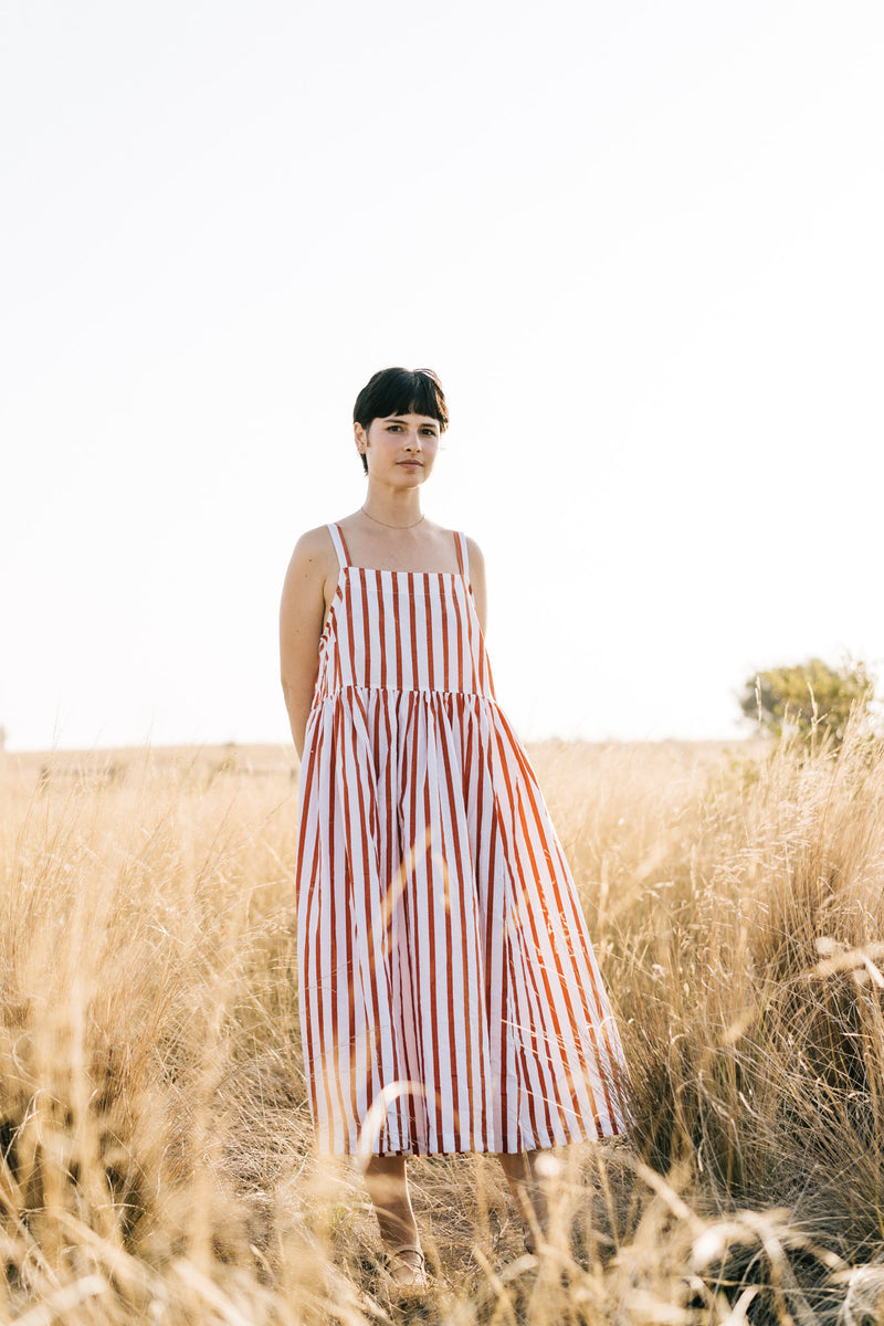 Metta - Sadie Dress - Cotton Stripe