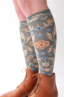 Bonne Maison Socks - PC901 - Knee high - Tapisserie