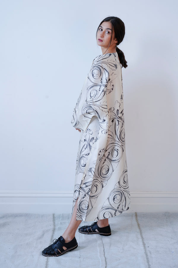 Sofie D'Hoore - Danube Printed Silk Dress