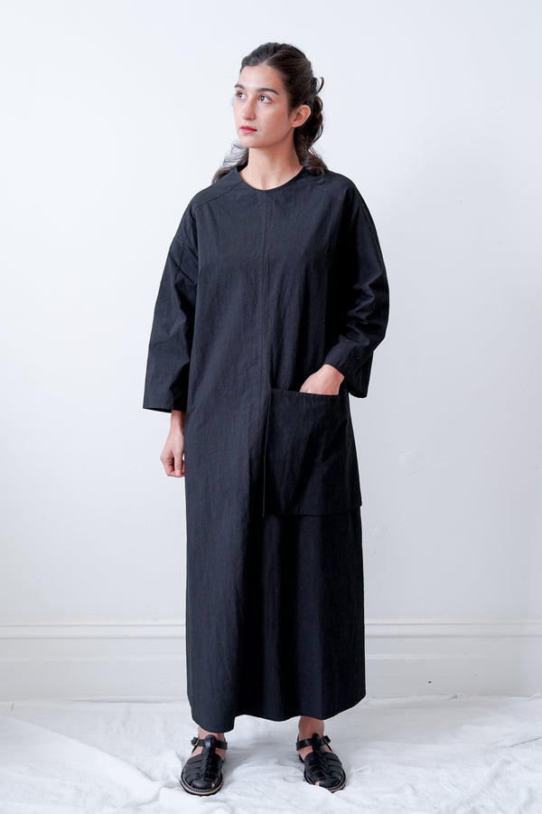 Toogood - The Fencer Dress Washed Cotton