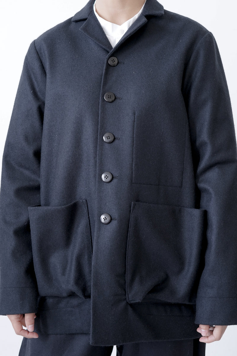 Toogood - The Photographer Jacket Felted Lambswool MW