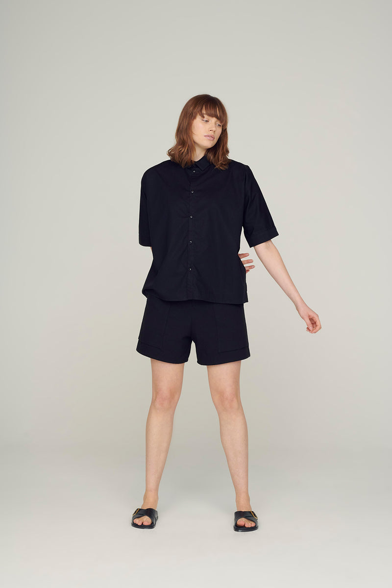 Toogood - The Gardener Shirt Short fine cotton