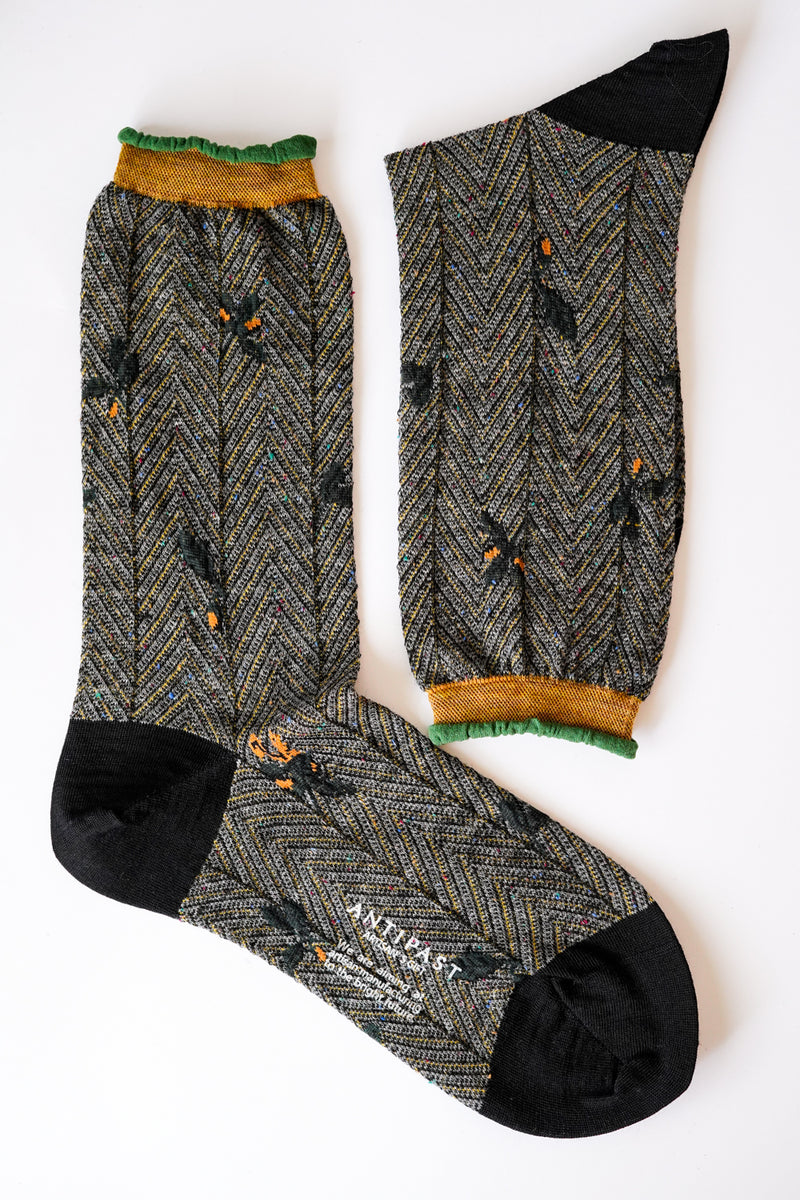 Antipast - Socks Knitted - wool-nylon-cotton - AM-742