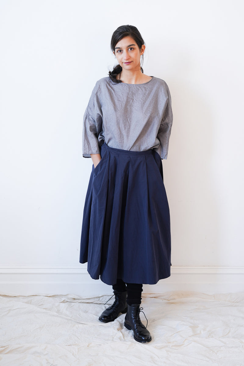 Apuntob - P1007/T1726 Skirt Navy