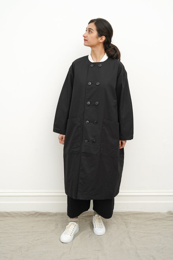 Gauze - No Collar Coat - LA051
