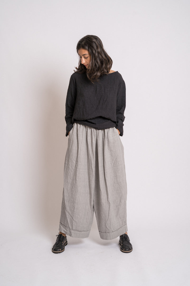 Manuelle Guibal - 5516B Pant Oversize Sherry Lin