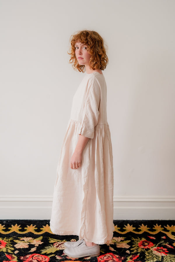 Metta - Boating Dress Linen