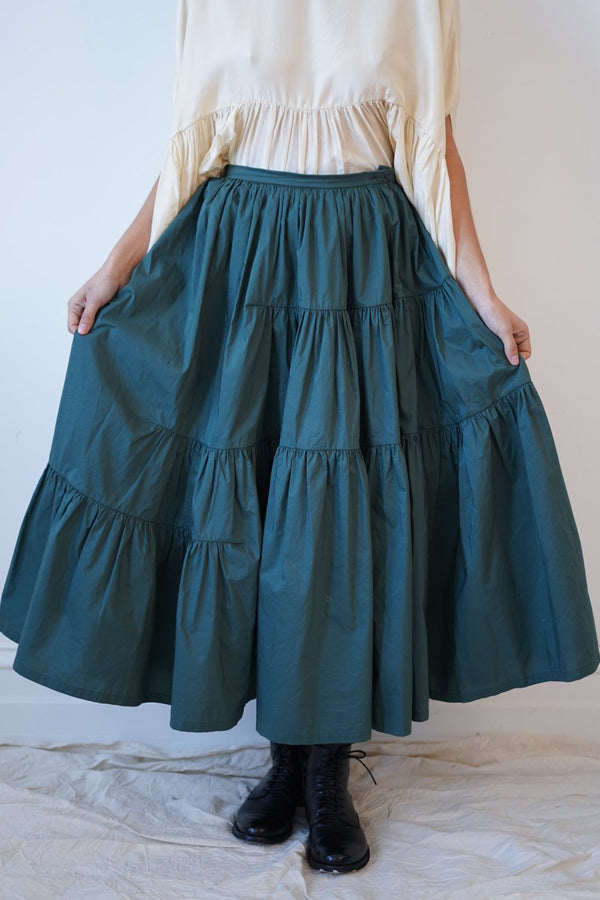 Mina Perhonen - Serenade Skirt - xa5140 - Green