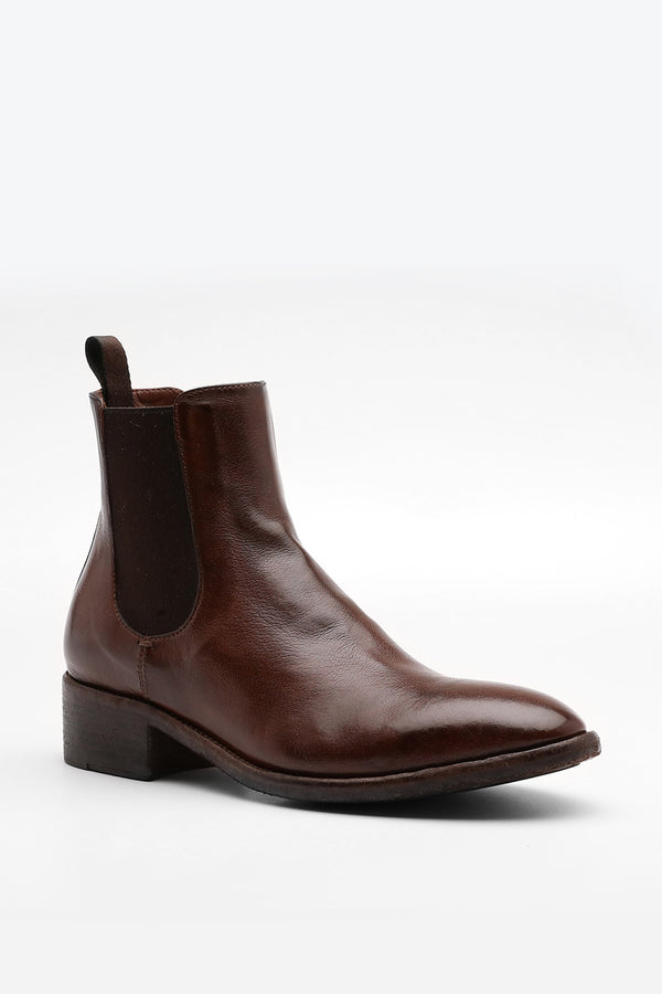 Officine Creative - Seline Boot 005 - Brown