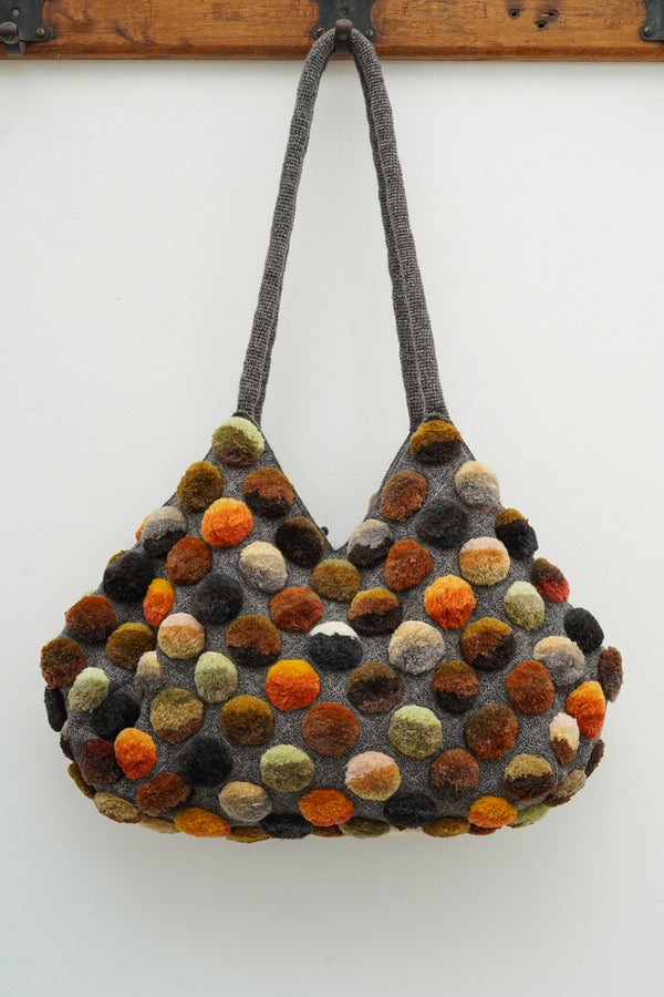 Sophie Digar- 4169/S/XL MR EARTH9 - AURORA BOREALIS xlrge crochet bag