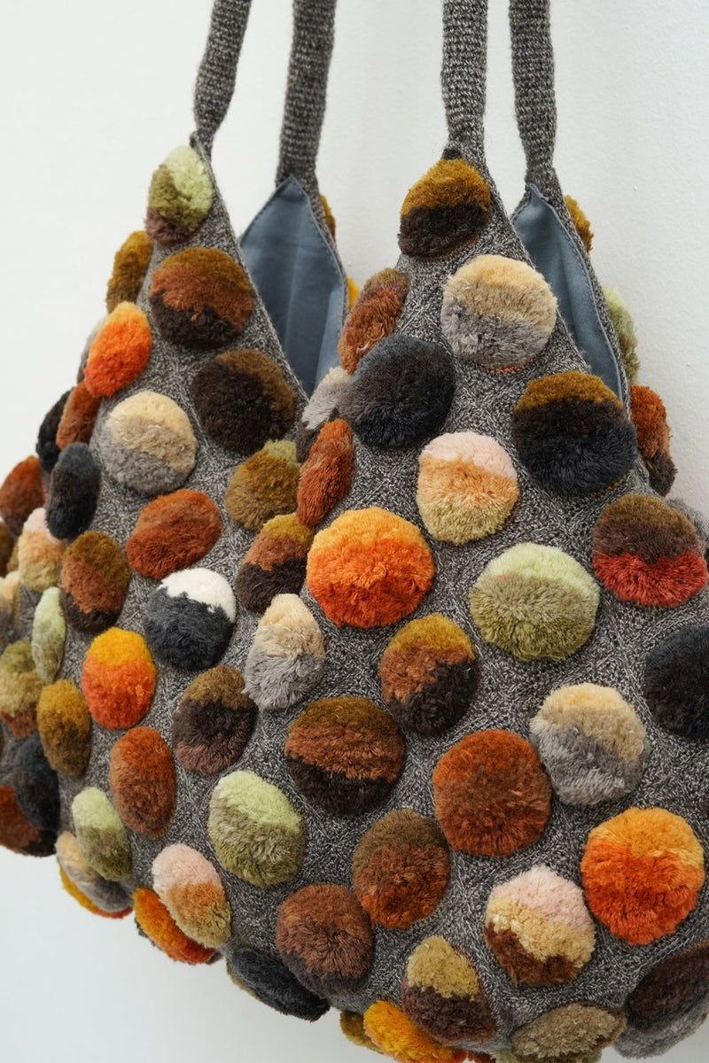 Sophie Digard- 4169/S/XL MR EARTH9 - AURORA BOREALIS xlrge crochet bag