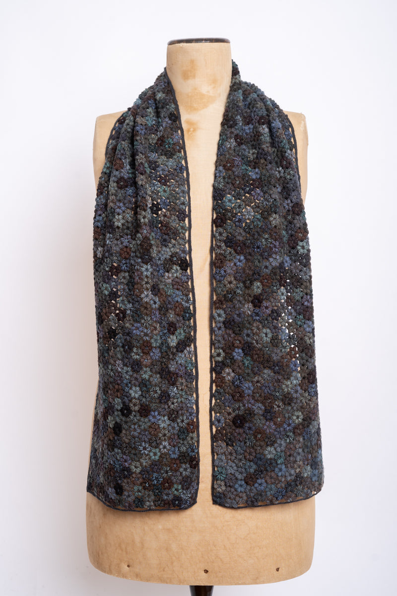 Sophie Digard - E3890L Mr NTB - Tiny - large crochet scarf