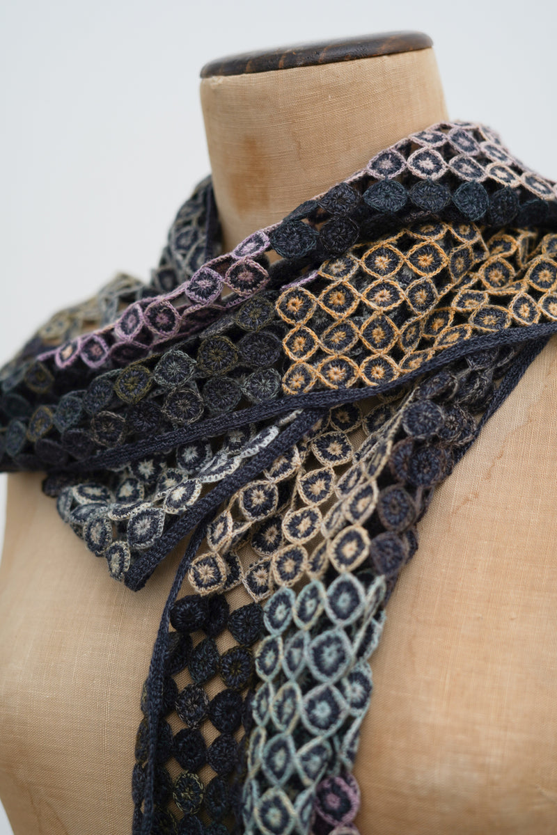 Sophie Digard -  Pigment Circle Crochet Scarf 4290