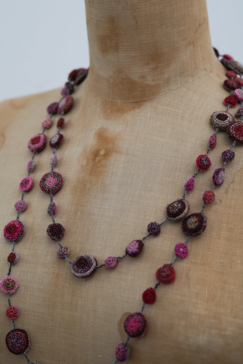 Sophie Digard -3083 - Long Crocheted necklace