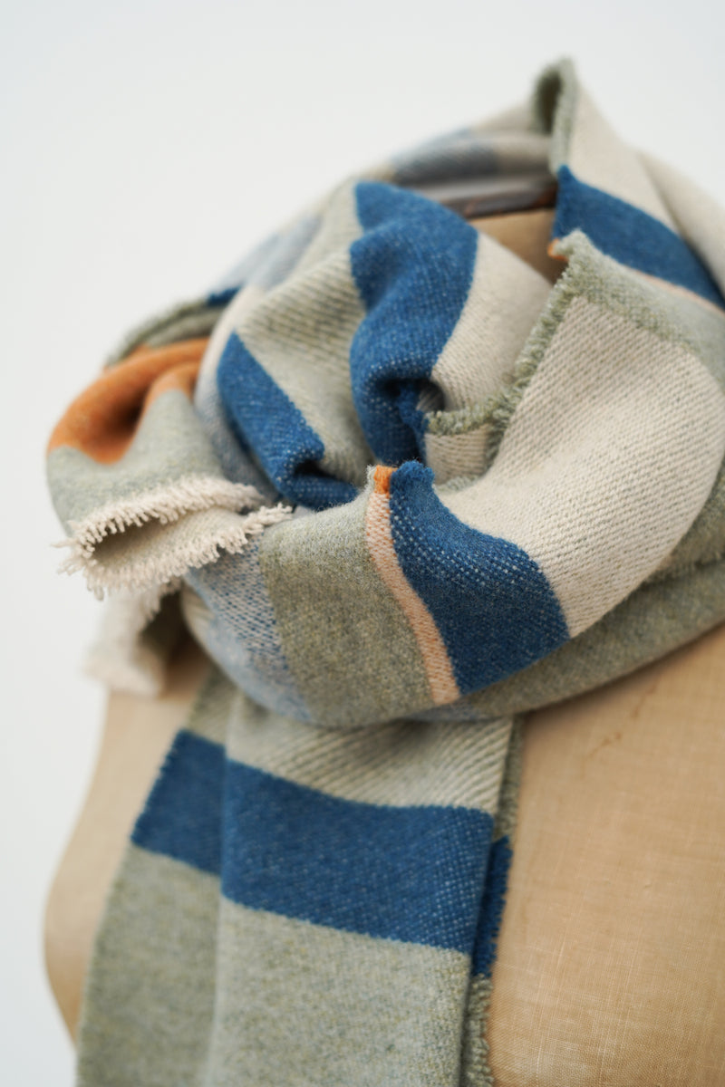 Wallace Sewell - stolzl wool scarf 245 x 35cm