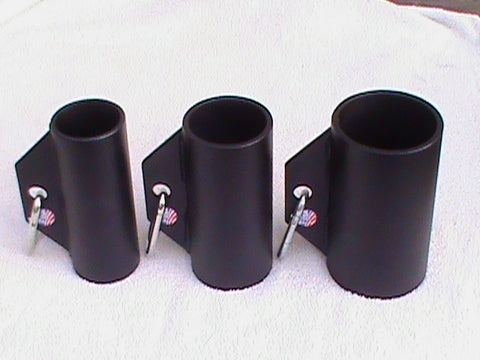 Full Set: 2, 2.5 and 3 inch Round Grip Handles with Carabiners