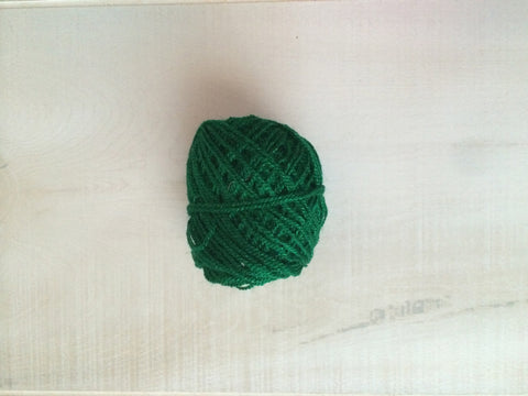 Green Acrylic Yarn