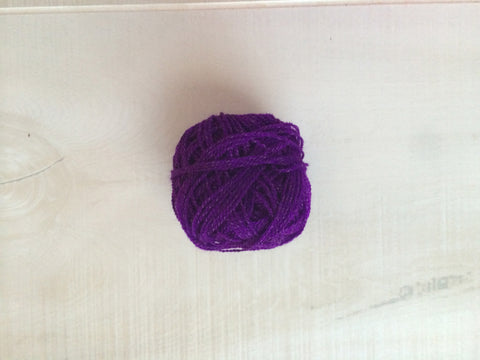 Purple Acrylic Yarn