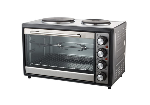 Sheffield 33L Mini Oven with Dual Hot Plates