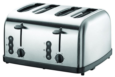 Sheffield Stainless Steel Toaster - 4 Slice