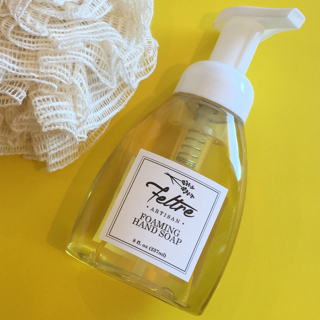 Foaming Hand Soap - Made with Organic Oils and Essential Oils