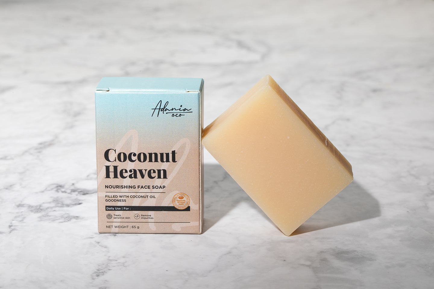 Coconut Heaven Nourishing Face Soap (65g)