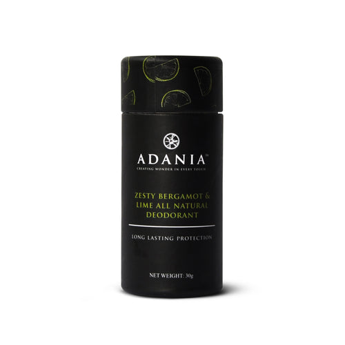 ADANIA Bergamot & Lime All Natural Deodorant