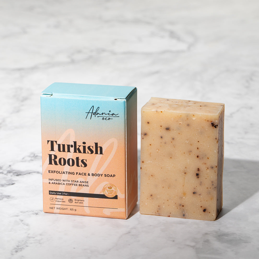 Turkish Roots Exfoliate Face & Body Soap (65g)