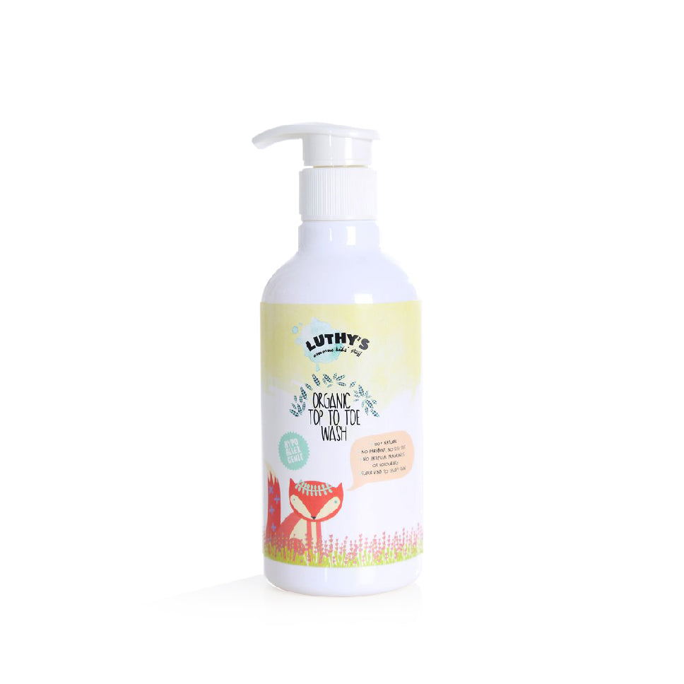 Luthy's Organic Top To Toe Wash