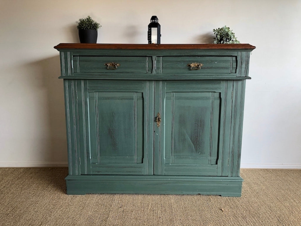 Rare Cedar Timber Rustic Sideboard