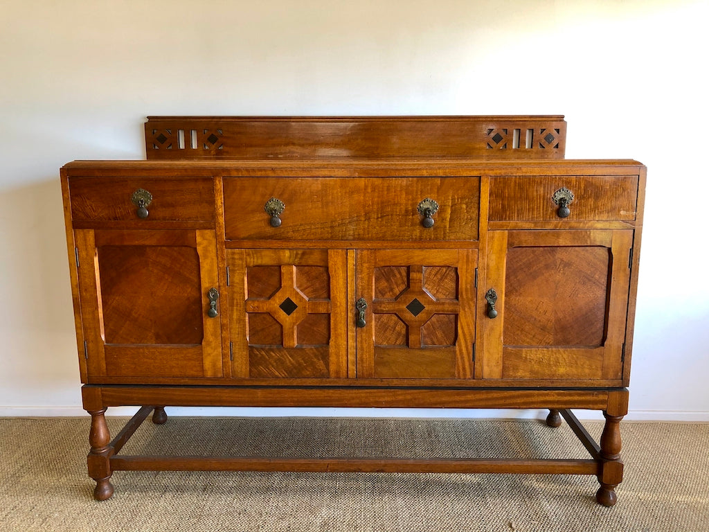 Rustic Style Antique Maple Sideboard