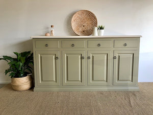 Large Reclaimed Modern Country Sideboard