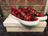 Blowfish Malibu Play Sneakers in Buffalo Plaid-(6-10)