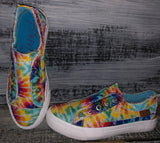 Blowfish Play Sneakers in Rainbow Tie Dye(6-11)