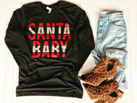 Santa Baby Red Foil(S-2XL)