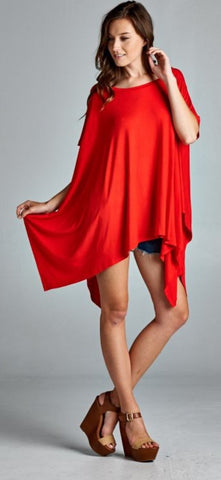 Kaitlin Tunic Red