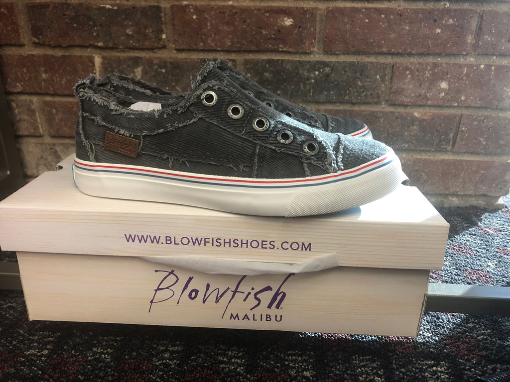 Blowfish Malibu Play Sneakers in Gray Hipster (6-10)