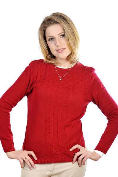 A stylish, chic Cooper for Women crew neck pullover.