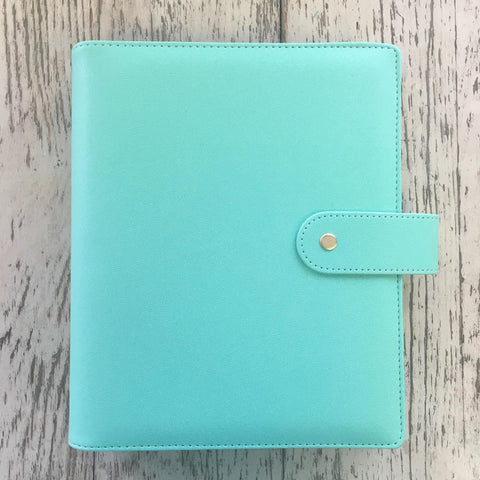 Heart of Gold 2ND EDITION A5 Planner in Aquamarine Binder Only