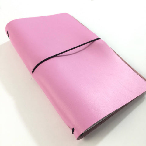 Travelers Notebook Spun Sugar ( Pink ) Standard Size