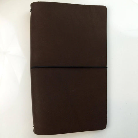 Travelers Notebook Chocolate Standard Size