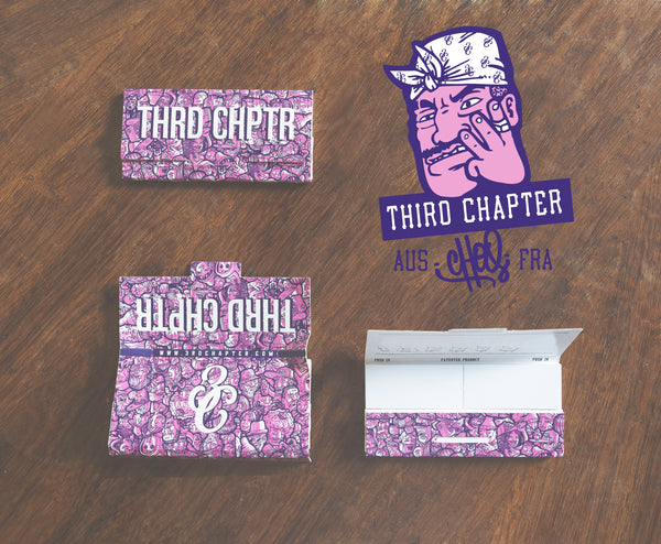 Third Chapter - 3C X Choq Rolling Papers - 3rd Chapter