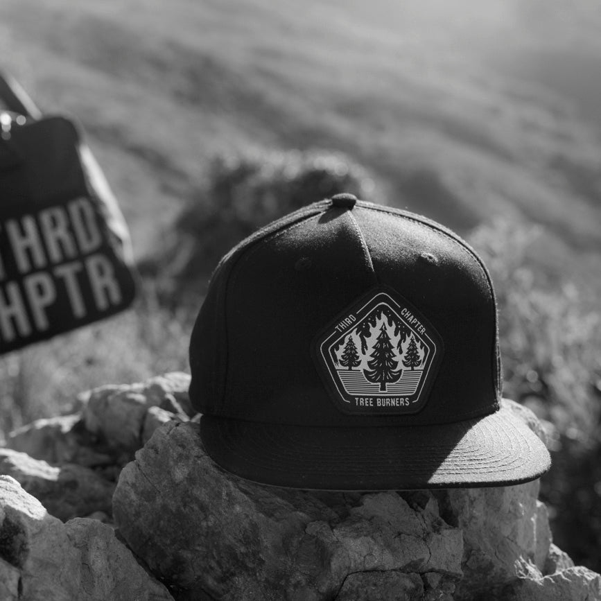 Third Chapter Black Tree Burners Snapback