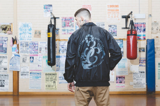 Third Chapter - One fight at a time coach jacket - 3rd chapter - 3c
