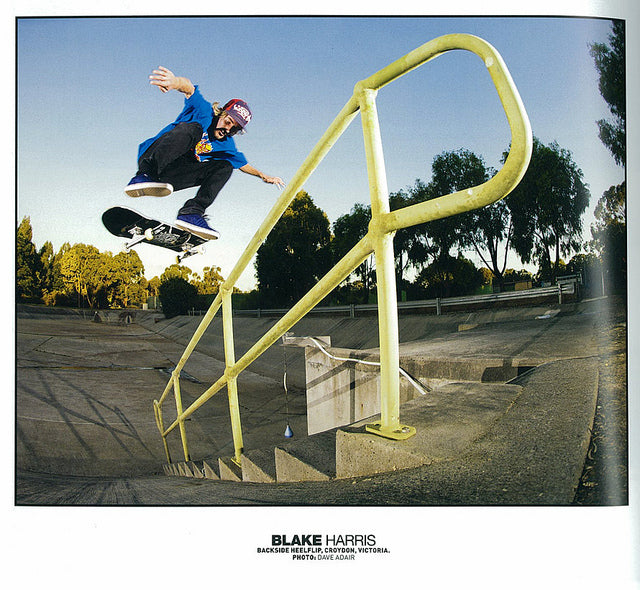 Blake Harris - Slam Magazing