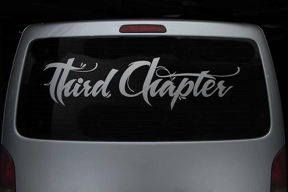 Third Chapter - Van Decal