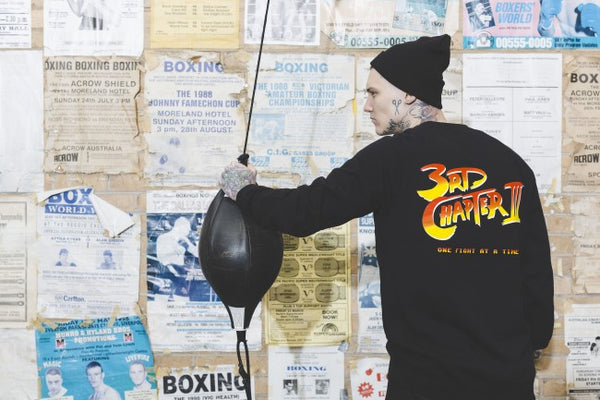 Third Chapter Streetfighter Crewneck